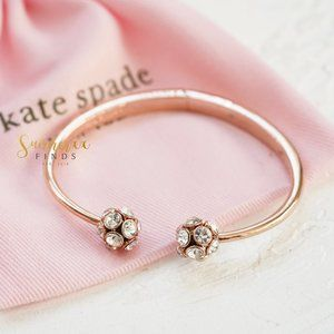 Kate Spade Time To Shine Open Hinged Cuff Bracelet